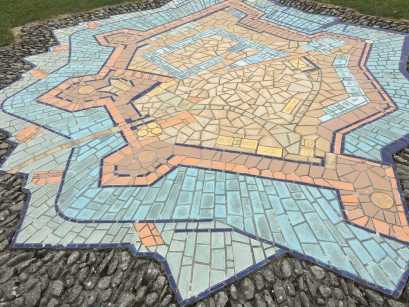 Tile map of the fort