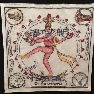 Scottish Indian Diaspora embroidery